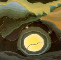Arthur Dove - Me and the Moon